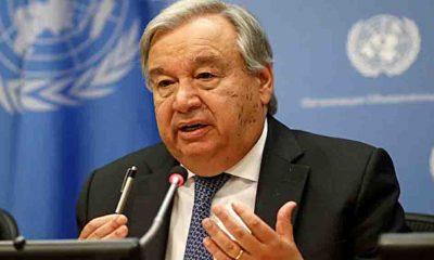 BM Genel Sekreteri Guterres: Dünya 2.7 santigrat derecelik sıcaklık artışına giden felaket bir yolda