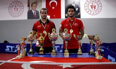 Masa tenisinin ikiz şampiyonları, olimpiyatı hedefliyor