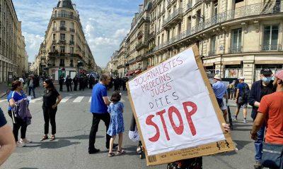 Fransa'da hükümetin Covid-19 ile mücadele politikası karşıtı gösteriler sürüyor