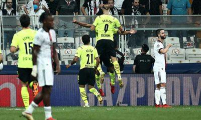 Beşiktaş 'Devler Ligi'ne mağlubiyetle başladı