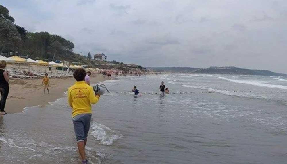 Beykoz'da fırtına beklentisi nedeniyle yarın denize girmek yasaklandı