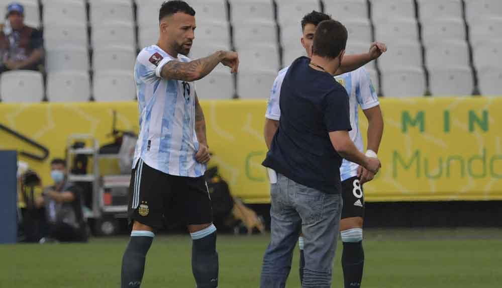 Brezilya-Arjantin maçında tarihi 'sınır dışı' krizi! Arjantin sahayı terketti!
