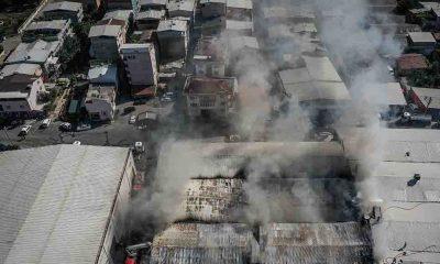 Bursa'da tekstil atölyesinde çıkan yangın kontrol altına alındı