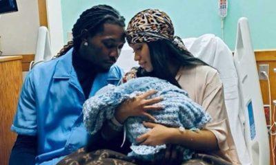 Dünyaca ünlü rapçi Cardi B. ikinci kez anne oldu