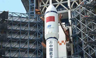 Çin, kargo mekiğini uzay istasyonuna yolladı