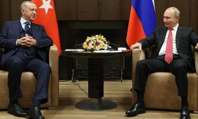 Cumhurbaşkanı Erdoğan: Suriye'de barış Türkiye ve Rusya ilişkilerine bağlı