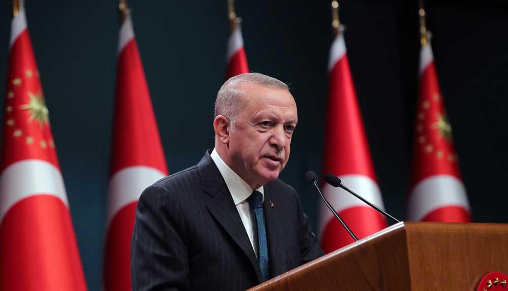 Cumhurbaşkanı Erdoğan, Cumhurbaşkanlığı Kabinesi sonrası açıklamalarda bulunuyor