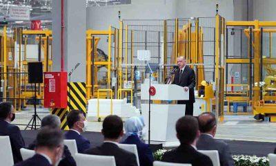 Cumhurbaşkanı Erdoğan: İnsanımıza istihdam sağlayan her sanayicinin başımızın üstünde yeri vardır