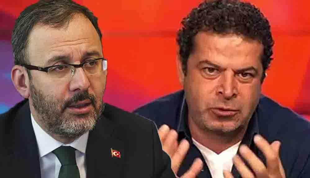 Cüneyt Özdemir'den Bakan Kasapoğlu'nun açıklamasına tepki: Böyle Gençlik Bakanı olur mu ya