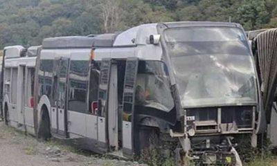 63 milyon avroluk çürüyen metrobüsleri böyle savundu!