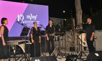 Damask Vocal Quartet, 19. Mersin Uluslararası Müzik Festivali'nde sahne aldı
