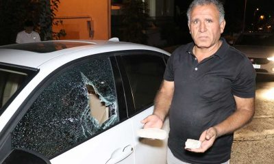 Denizli'de yoldan geçen araçlara taş atan kişi gözaltına alındı