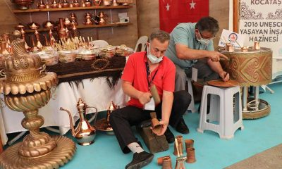 Uluslararası Altıneller Geleneksel El Sanatları Festivali Denizli'de başladı