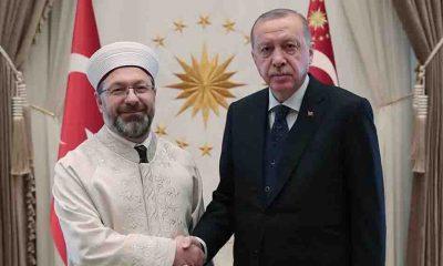 Diyanet İşleri Başkanı Erbaş, Erdoğan'ın ardından Cumhurbaşkanı olmak istiyor!