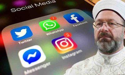 Diyanet'ten müftülüklere 'sosyal medya' talimatı