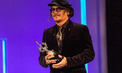 ABD'li aktör Johnny Depp, İspanya'da Donostia Ödülü'nü aldı
