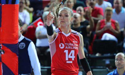 Milli voleybolcu Eda Erdem, Avrupa Şampiyonası'nda en iyiler arasına girdi