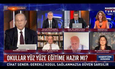 Eğitim uzmanı Şener, Nagehan Alçı'nın olduğu yayında isyan etti: 'Beni yayından alın'