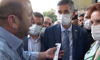 """Engelli vatandaştan Akşener'e: """"Tayyip Abi gelsin 'Derdin ne' desin. Bu milletin derdi var ablacığım"""""""