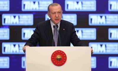 Erdoğan: Türkiye dünya ihracatında yüzde 1 pay seviyesine ulaşarak kritik eşiği yakaladı