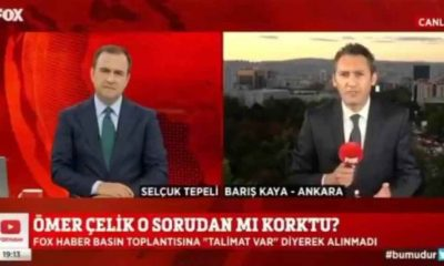 FOX TV muhabiri, AKP Sözcüsü Çelik'in basın toplantısına alınmadı