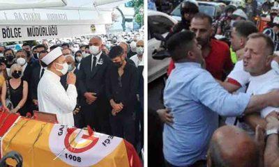 """Ferhan Şensoy'un cenazesinde tepki çeken olay: """"Beşiktaş"""" sloganları atarak kalabalığın üstüne yürüdüler"""