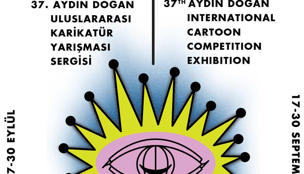 37. Aydın Doğan Uluslararası Karikatür Yarışması Sergisi, Galeri Işık Teşvikiye'de açılıyor