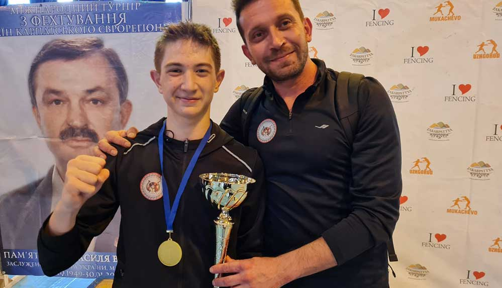 Genç milli eskrimci Yalgın Yeter, Ukrayna'da şampiyon oldu