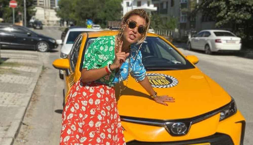 Gülben Ergen taksi şoförü oldu, yolcular şaştı kaldı!