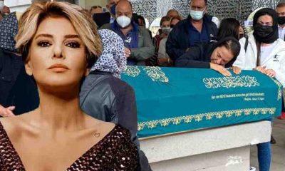 Gülben Ergen'den, Yeşim Salkım'ın babasının cenazesinde dikkat çeken detay!