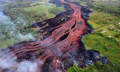 Hawaii'deki Kilauea Yanardağı'nda patlama meydana geldi