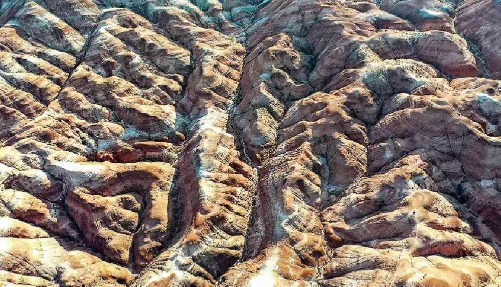 Iğdır'daki Gökkuşağı Tepeleri'ne ziyaretçi ilgisi