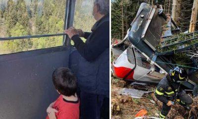 """İtalya'daki teleferik kazasından kurtulan çocuğun, İsrail'e götürülmesine """"insan kaçırma"""" soruşturması"""