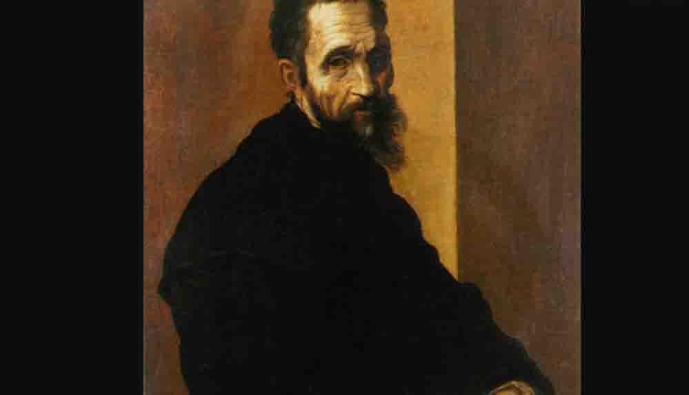 İtalyan ressam Michelangelo'nun boyu kısa çıktı