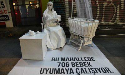 Kadıköy'de yüksek sese karşı farkındalık projesi