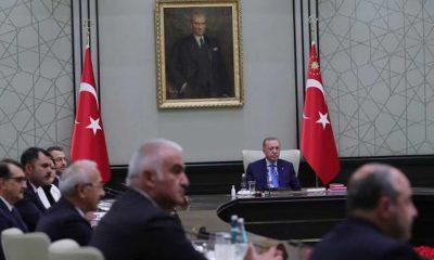 Kabine toplantısı bugün Beştepe'de yapılacak