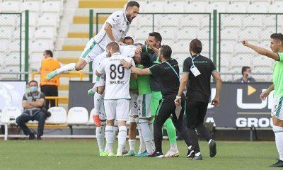 Konyaspor 3 puanı 3 golle aldı