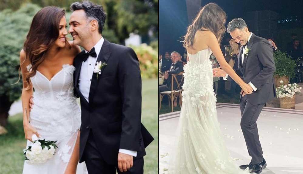 Arda Türkmen ile Melodi Elbirliler evlendi: Düğünde talihsiz kaza