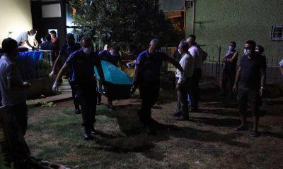 Mersin'de üzerine asansör kabini düşen kadın öldü