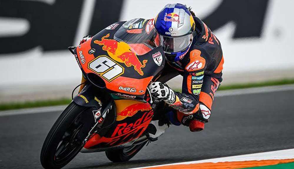 Milli motosikletçi Can Öncü, Fransa'da 8. oldu
