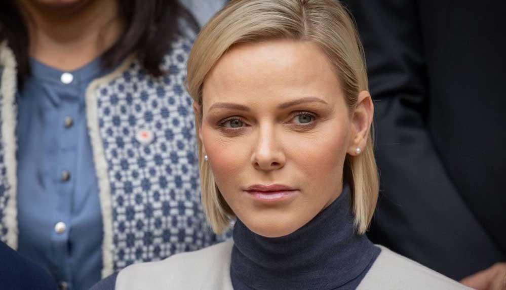 Monaco Prensesi Charlene sahte isimle tedavi oldu