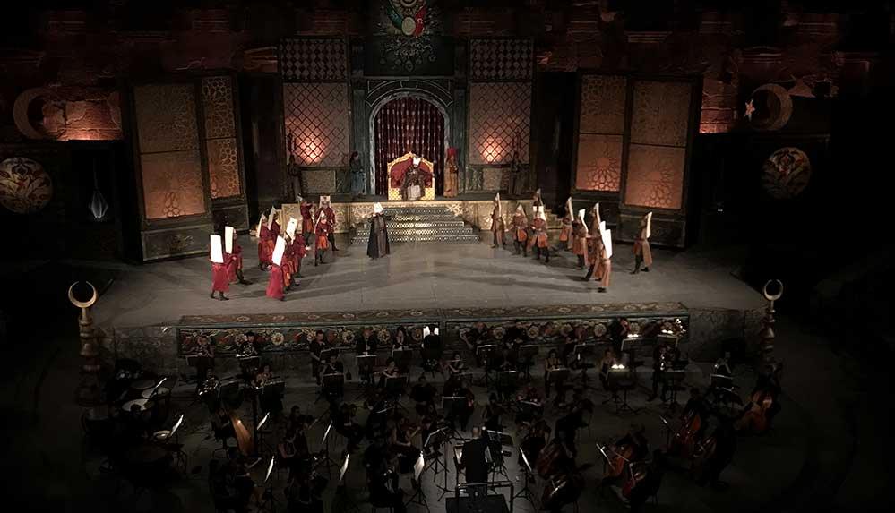 28. Uluslararası Aspendos Opera ve Bale Festivali 4. Murat operasıyla başladı