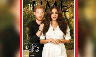 Prens Harry ve Meghan, Time'ın kapağında: Kıyafetlerinin anlamı ve Diana'ya gizli selam