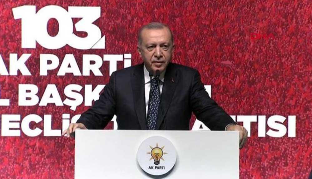 Cumhurbaşkanı Erdoğan: CHP, bir Truva atı misali siyaset kurumunu içeriden çökertmeye çalışıyor