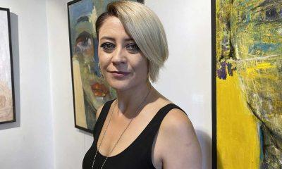 """Ressam Rukiye Epli Dede'nin """"Suskun"""" sergisi sanatseverlerle buluştu"""