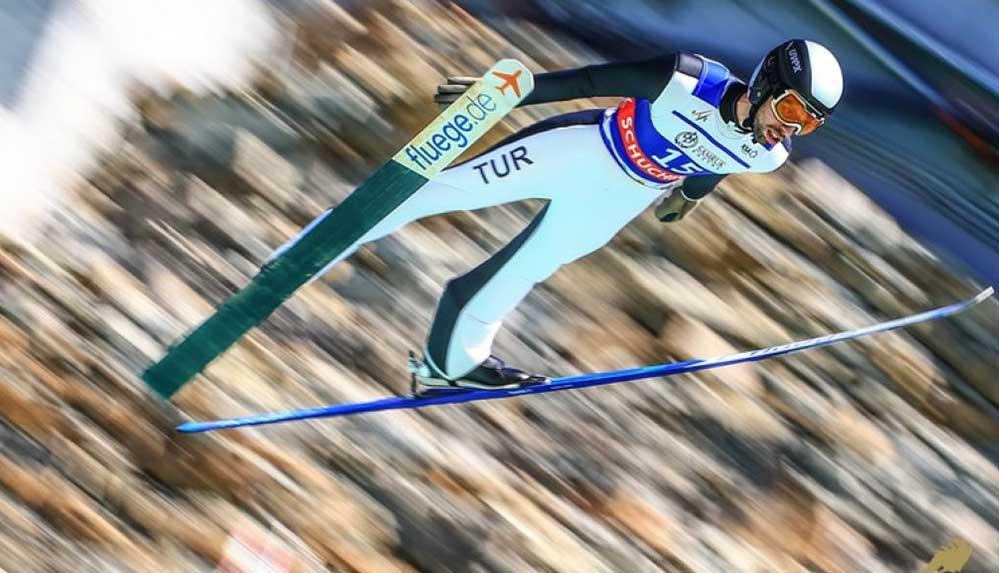 Milli kayakçı Fatih Arda İpçioğlu, ilk Dünya Kupası puanını elde etti.
