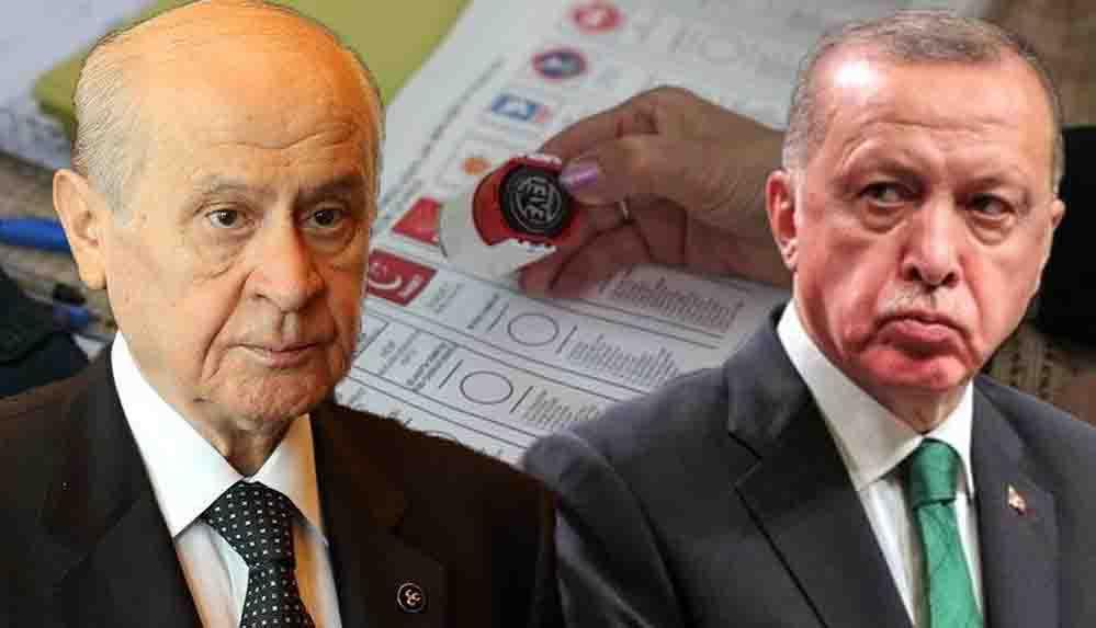 İşte AKP ve MHP'nin masasındaki seçim formülü!