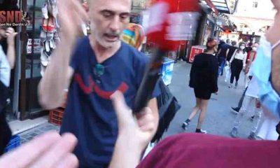 Sokak röportajında doğalgaz zammını soran muhabire saldırı: Çek ulan şunu!
