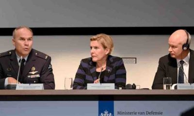 Son Dakika... Hollanda Savunma Bakanı istifa etti