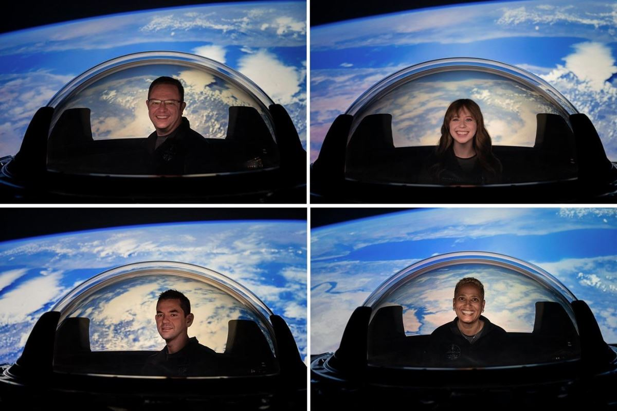 SpaceX'in Inspiration 4 görevi: Astronotlar uzaya böyle bakacak